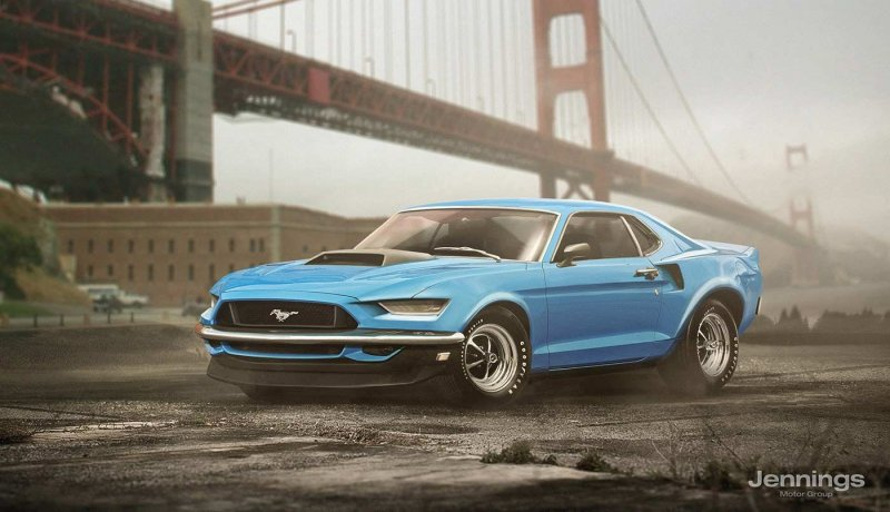 Ford Mustang 2017 Retro Concept