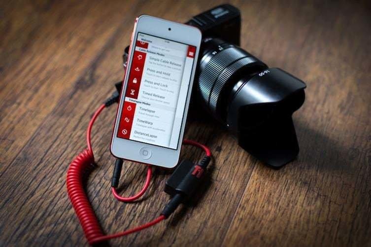 11. Для управления камерой можно использовать смартфон (нужен провод Triggertrap и специальное приложение) идеи, интересно, камера, полезно, советы, трюки, фото, фотоаппарат