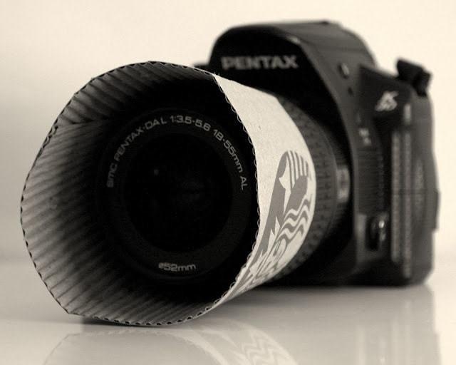 4. Защита от бликов: самодельная бленда для объектива из бумажного стаканчика для кофе идеи, интересно, камера, полезно, советы, трюки, фото, фотоаппарат