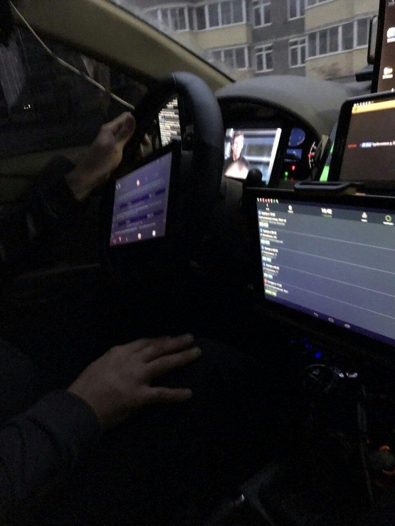 Придложение заняться сексом в такси