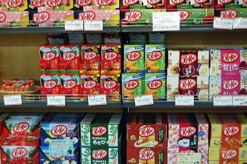 12. Япония - рай для любителей KitKat-а в мире, интересное, полезно, путешествия, страна, факты, фото, япония