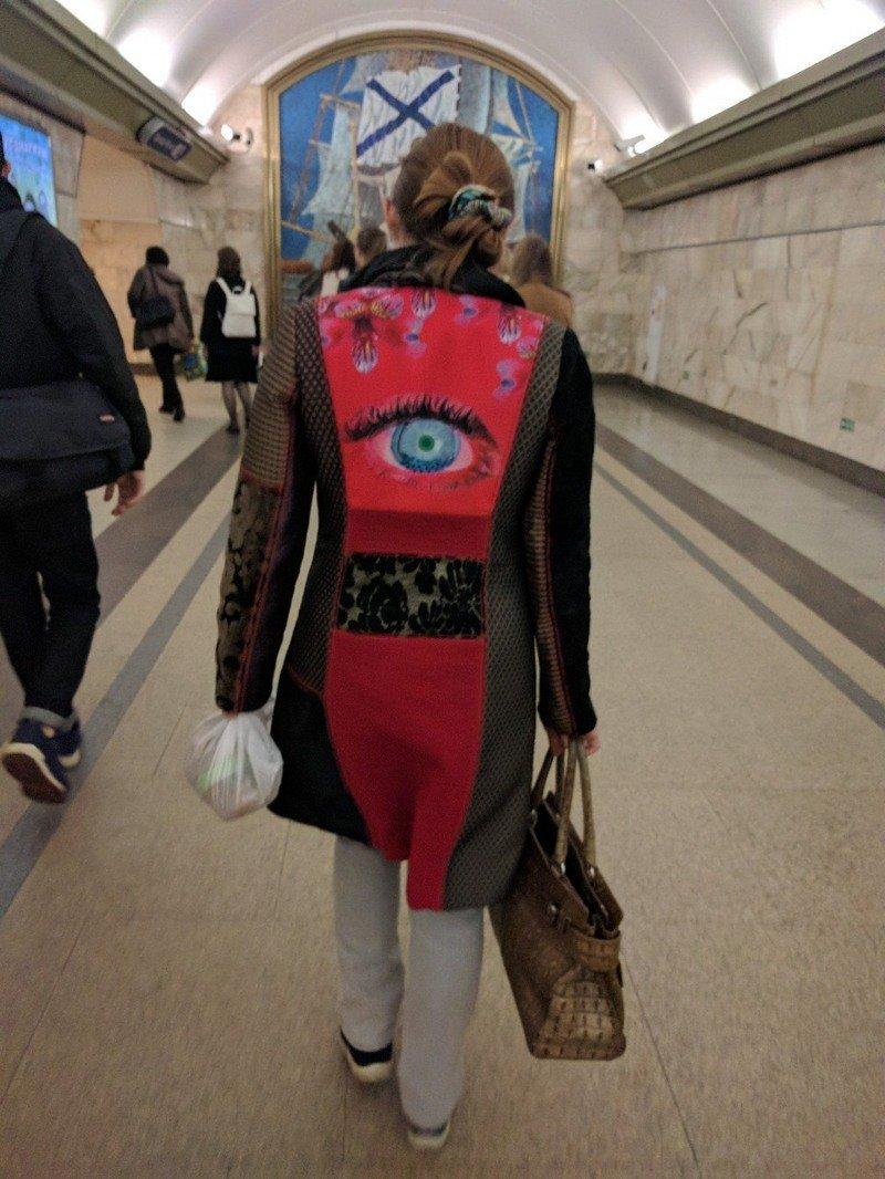 горнолыжный мода в метро фото отличную