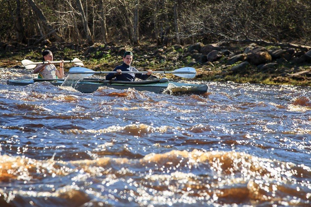 Рыбалка сплавом по северным рекам