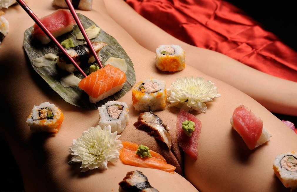 Would You Participate In Nyotaimori, The Art Of Eating Sushi Off A Naked Woman's Body