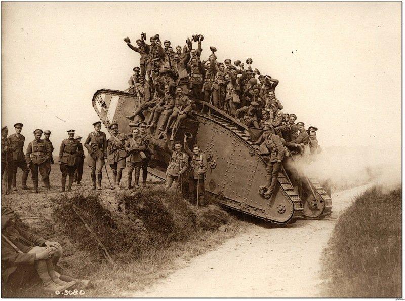 Доклад на тему военная техника первой мировой войны 6959