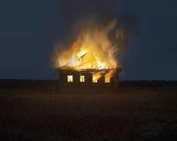 Фотограф, приручивший силу пламени!