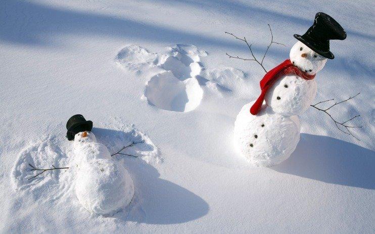 Волшебные картинки, которые поднимут настроение зимой! зима, приколы, снег, фото
