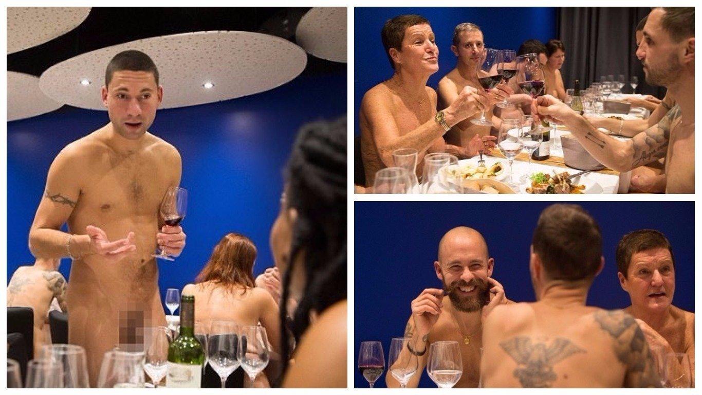Naked restaurant opens its doors