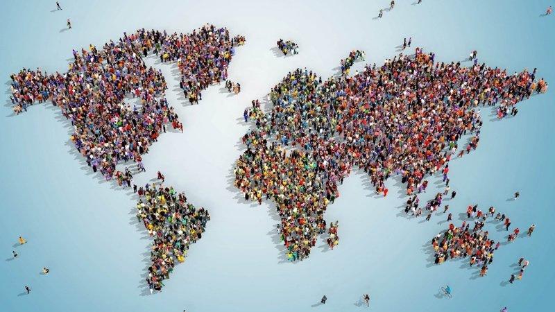 За всю историю человечества, которая началась около 162 тыс. лет назад, на Земле было рождено более 107 миллиардов человек древние люди, история, факты, человечество