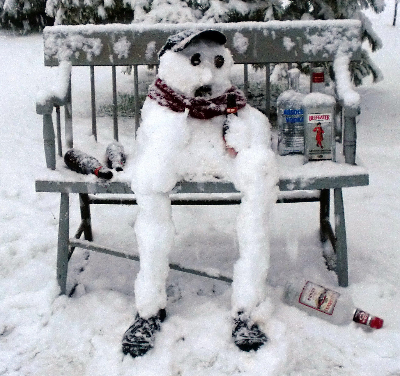 Про зиму смешные картинки