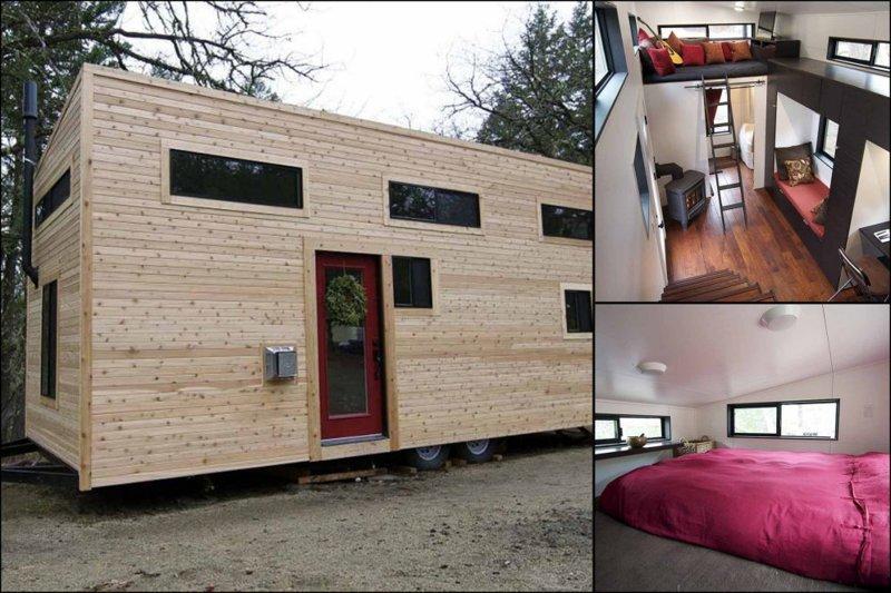 Бегство из ипотечного рабства: пара променяла шикарный особняк на крошечный дом-мечту в мире, дом, жизнь, люди, недвижимость, особняк