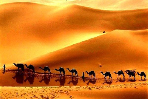 Великий шёлковый путь: почему в колодцах посреди пустыни всегда была вода (7 фото)