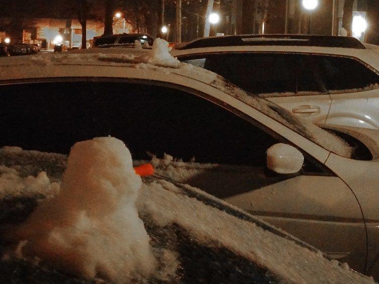 Снеговики - подниматели настроения! зима, креатив, новый год, снег, снеговик, творчество, фото, юмор