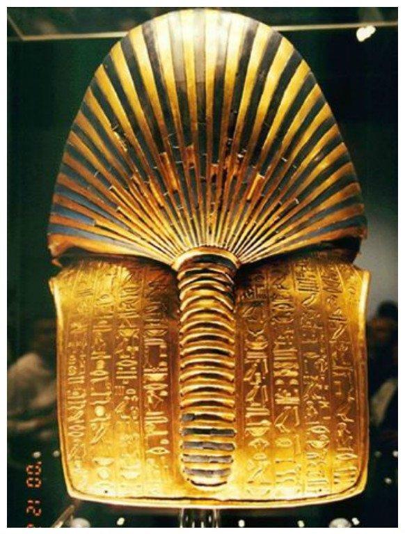 Золотая маска фараона Тутанхамона. Каирский музей древний египет, искусство, красота, невероятное, удивительное, ювелирное