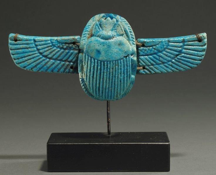 Бирюзовый скарабей древний египет, искусство, красота, невероятное, удивительное, ювелирное