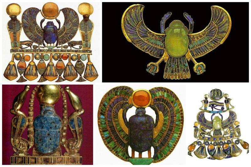 Невероятное ювелирное искусство Древнего Египта древний египет, искусство, красота, невероятное, удивительное, ювелирное