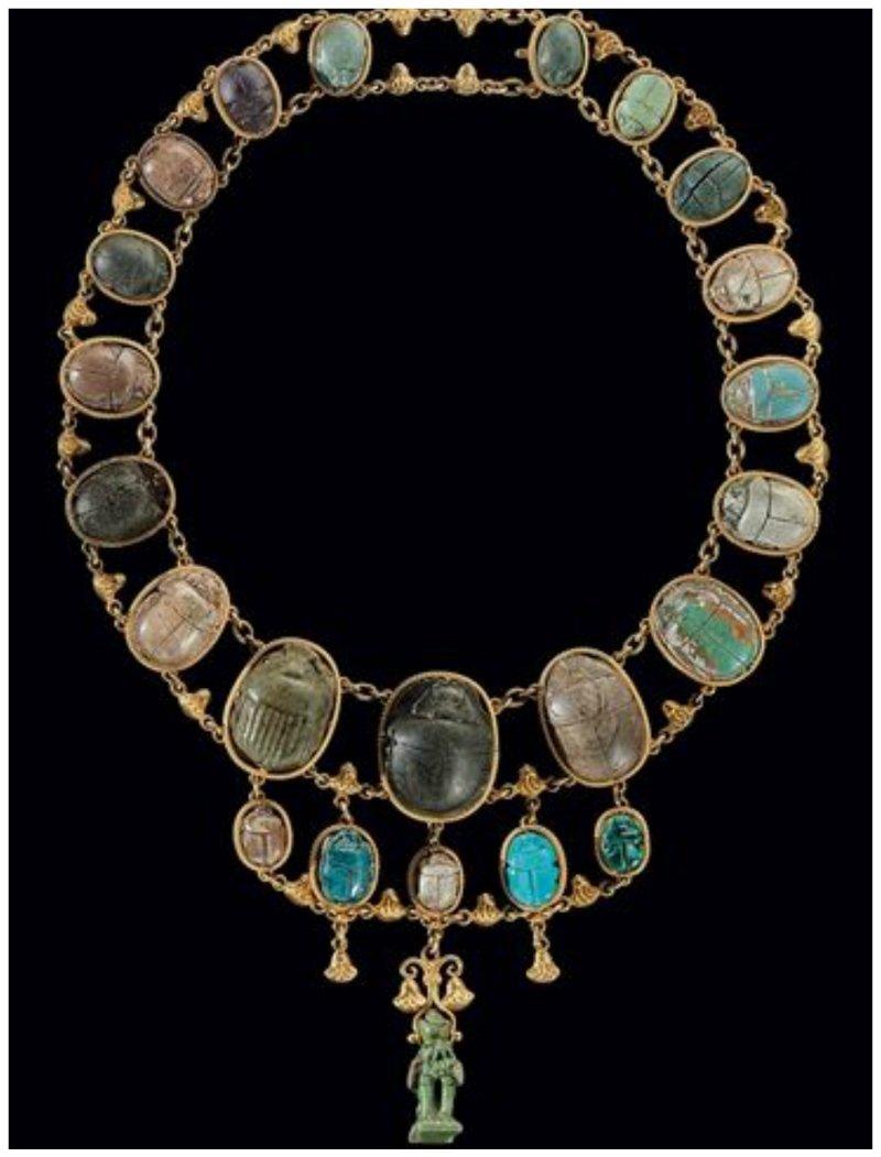 22 египетских скарабея - украшение знати древний египет, искусство, красота, невероятное, удивительное, ювелирное