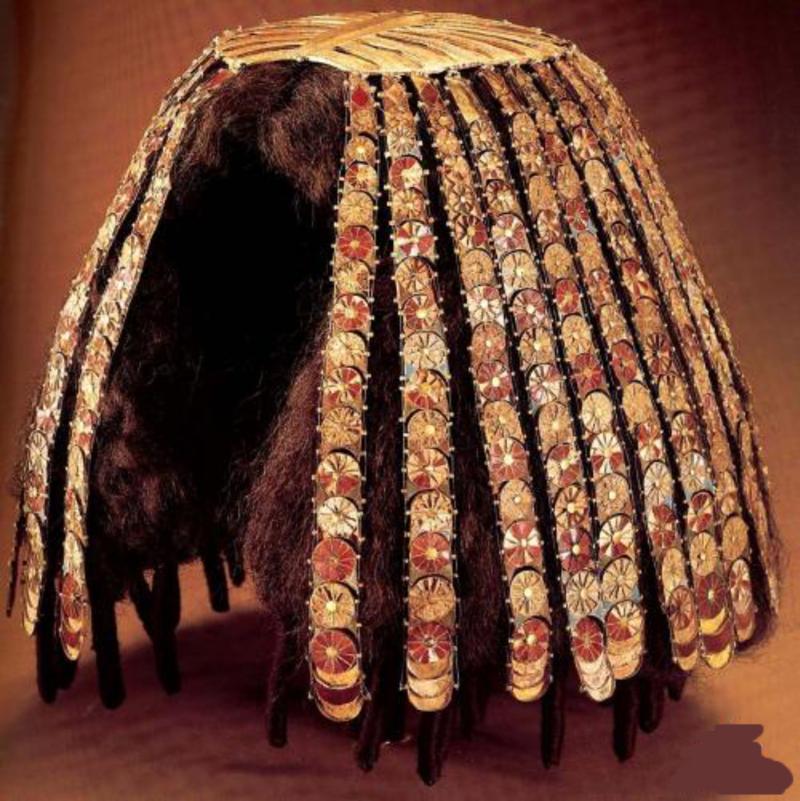 Парик царицы Египта Клеопары древний египет, искусство, красота, невероятное, удивительное, ювелирное