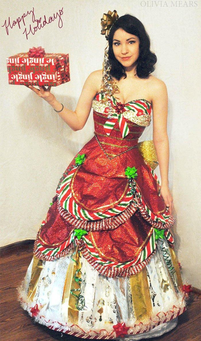 Талантливый дизайнер создаёт сказочные платья из упаковочной бумаги дизайнер, красиво, креатив, оригинально, платье, своими руками, творчество, фото