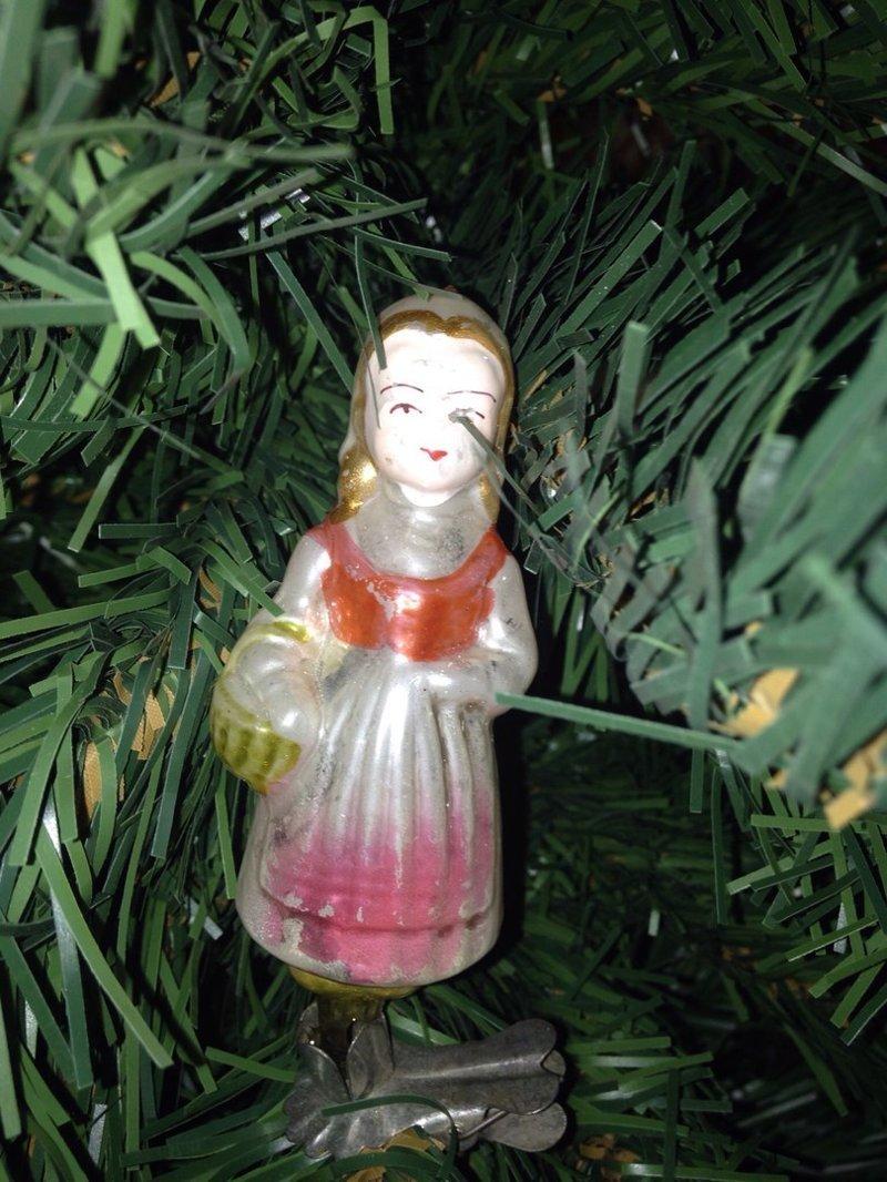Девочка с лукошком воспоминания, новый год, праздник, советские ёлочные игрушки, фото, ёлка, ёлочные игрушки