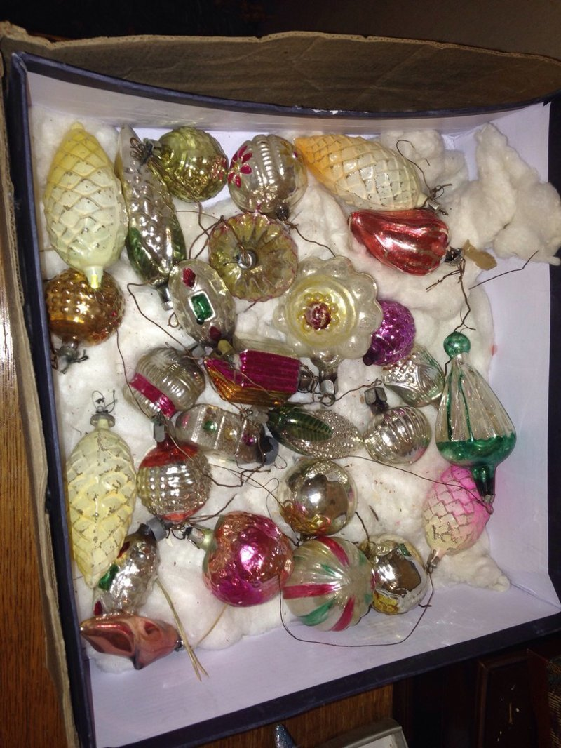 Вот всё, что не вошло на ёлку воспоминания, новый год, праздник, советские ёлочные игрушки, фото, ёлка, ёлочные игрушки