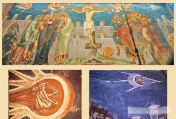 Ученые говорят, что у них нет сомнений, что это летательные аппараты - ведь внутри сидит человек археология, загадки, нло, предки, рисунки, тайны, ученые, фрески