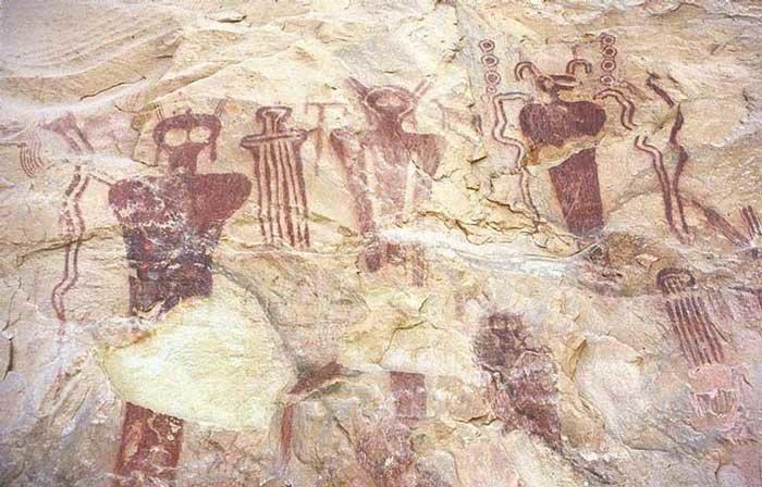 Сего Каньон. Юта археология, загадки, нло, предки, рисунки, тайны, ученые, фрески