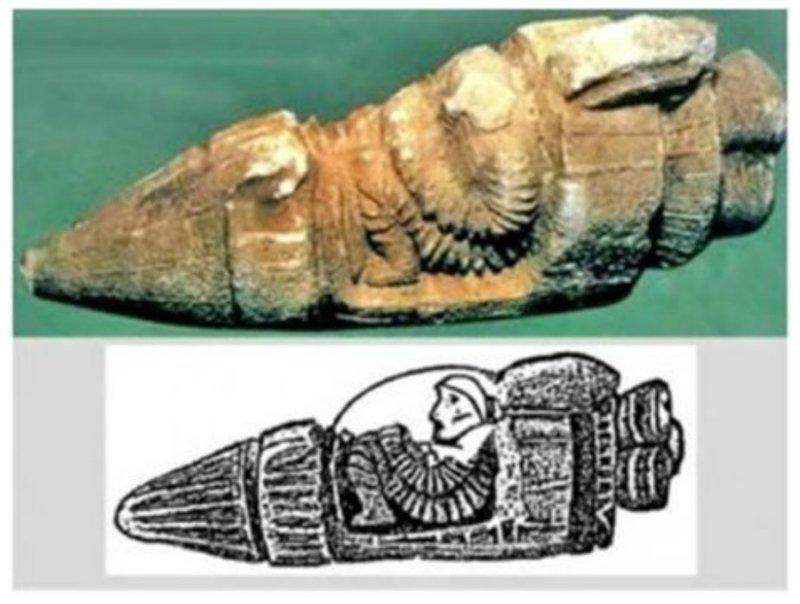 Древнейшее изображение космонавта обнаружено во время раскопок в районе Русахинил близ Вана и хранится в Стамбульском археологическом музее. археология, загадки, нло, предки, рисунки, тайны, ученые, фрески