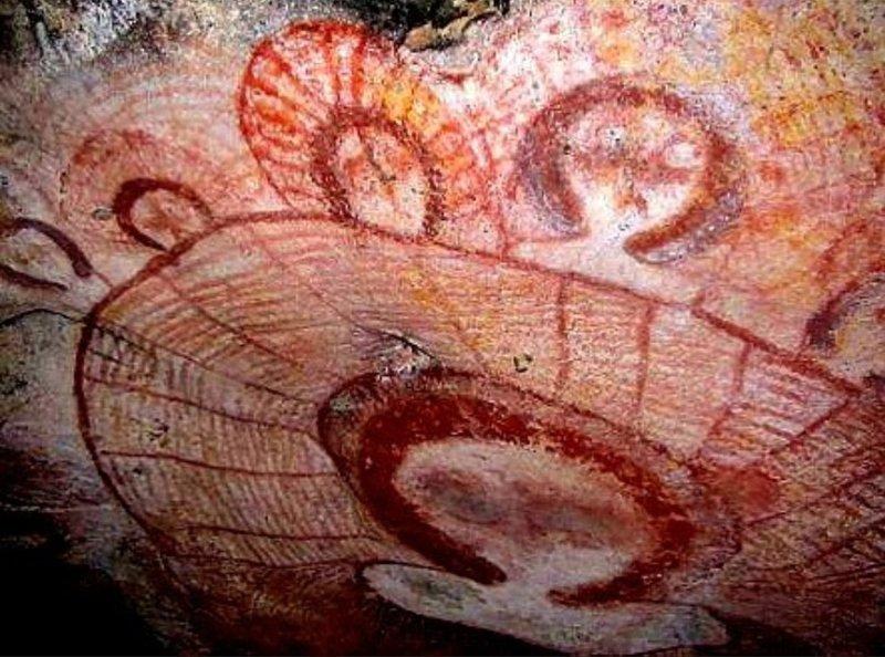 Наскальные рисунки в пещере Ласко, Франция. археология, загадки, нло, предки, рисунки, тайны, ученые, фрески