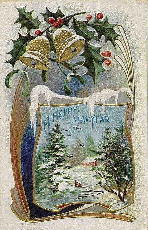 Для открытки, старинные зарубежные открытки