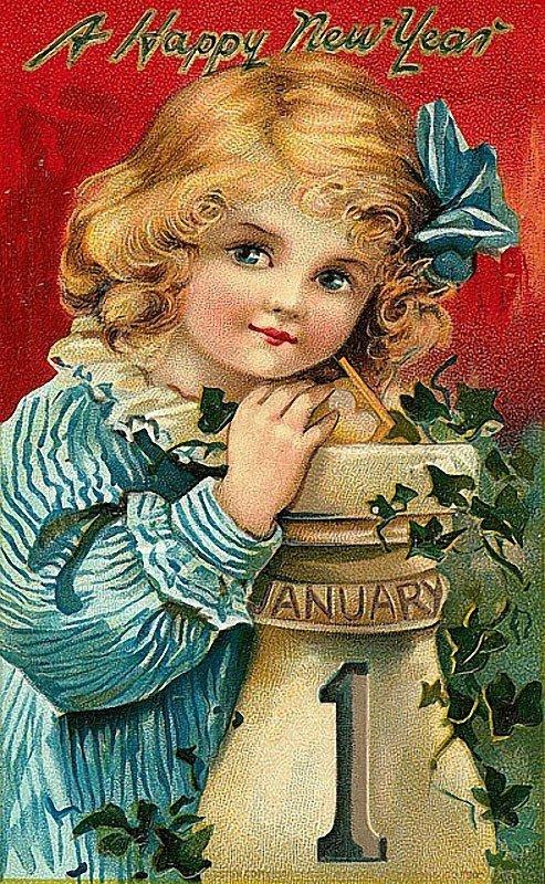 Старинные зарубежные открытки, поздравление зятя февраля