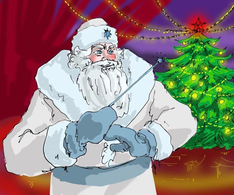 Жизнь четвертая. Главный конферансье дед мороз, интересно, миф, новый год, сказка, сказки, сказочный персонаж, снегурочка