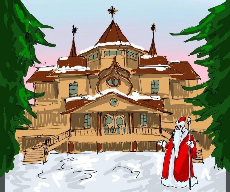Жизнь пятая. Он существует! дед мороз, интересно, миф, новый год, сказка, сказки, сказочный персонаж, снегурочка