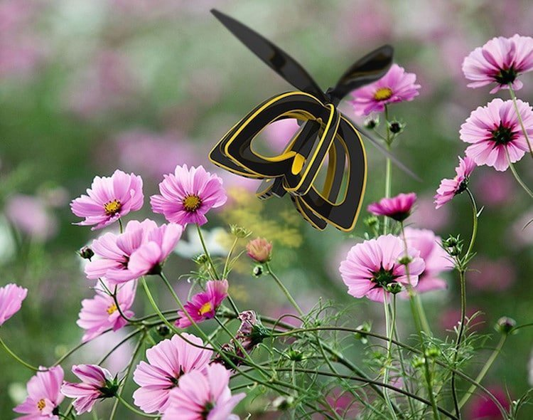 Дрон-пчела Plan Bee дизайн, изобретатели, изобретения, инновации, наука, новинки, технологии, технологические прорывы