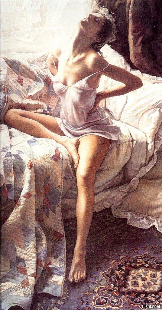 Женское акте видео тело в красивое