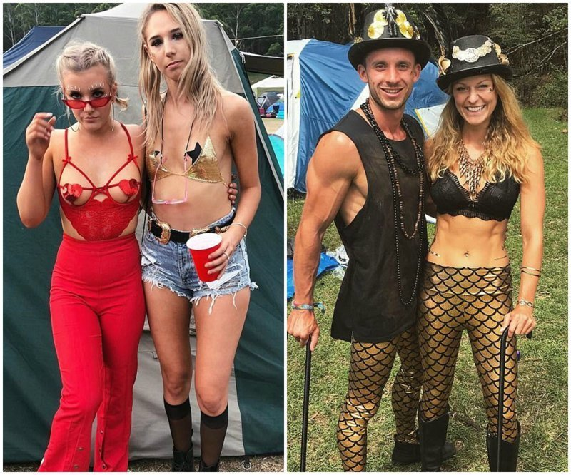 Лучшие костюмы с музыкального фестиваля Lost Paradise Фестиваль, девушки, костюмы, креатив, музыкальный фестиваль, подборка, творчество, фото