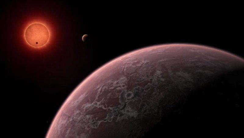 НАСА обнаружило семь потенциально пригодных для жизни планет 2017, в мире, интересное, космос, наука, научные открытия, планета, ученые