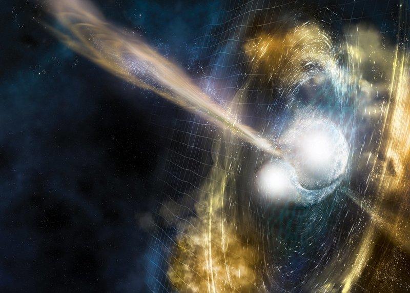 Ученые стали свидетелями образования в космосе золота и платины 2017, в мире, интересное, космос, наука, научные открытия, планета, ученые