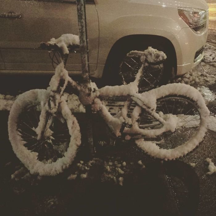 29. Замерзающий Нью-Йорк канада, мороз, погода, сша, фото, холод, явление