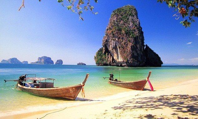Уэст Рейли, остров Краби куда поехать, море, отдых, пляжи, пляжный отдых, солнце, таиланд, туризм