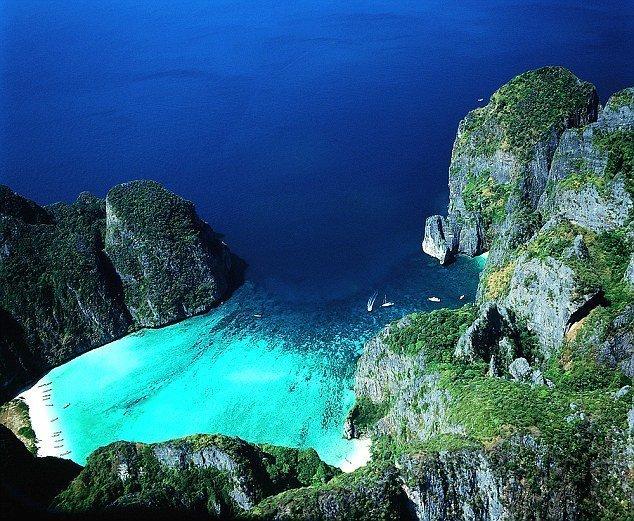 Майя бич, остров Пхи Пхи Ле куда поехать, море, отдых, пляжи, пляжный отдых, солнце, таиланд, туризм