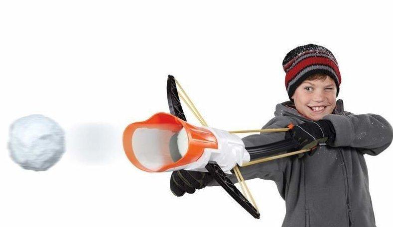8. Рогатка для снежков ватрушки, зима, зимние развлечения, россия, сани, смешно, фото