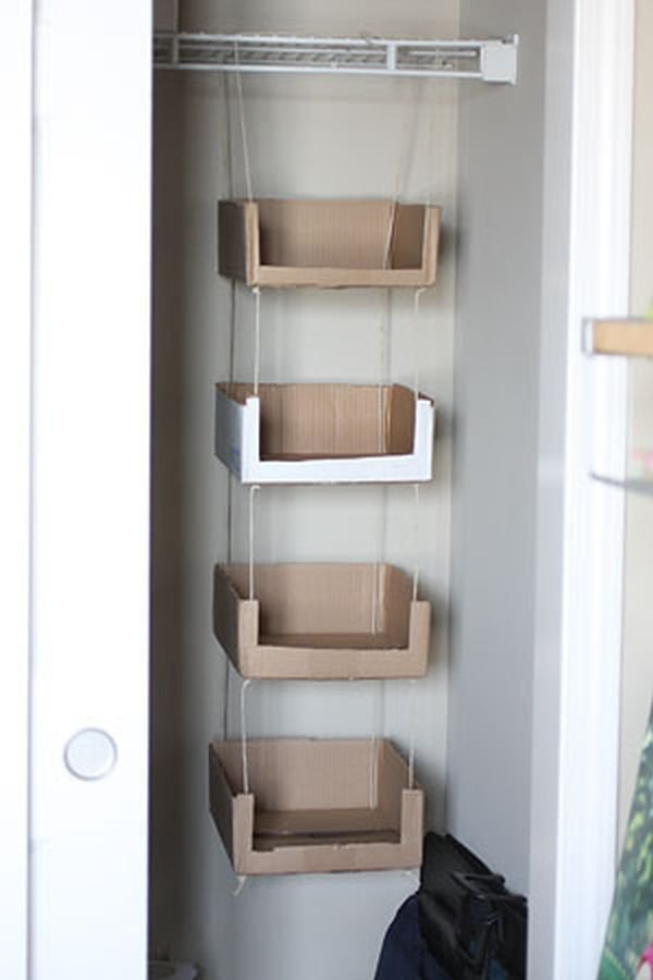 Достали картонные коробки от бытовой техники, захламляющие балкон? Во что можно из них сделать идеи, интересно, мастер на все руки, своими руками, сделай сам, фото