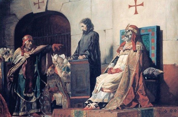 Смотреть секс оргии в ватикане