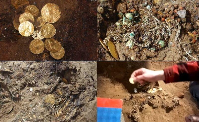 В католическом соборе святых Мартина и Николая в городе Быдгощ в Польше был найден золотой клад – почти полтысячи золотых монет XVI-XVII веков и 200 предметов из золота Клады, всячина, золото, интересное, истории, находки, удача
