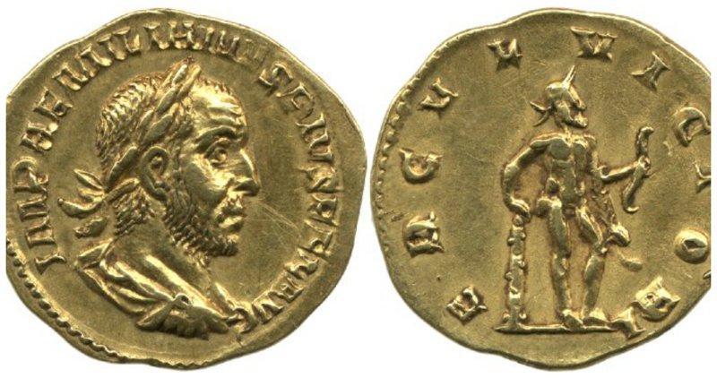 Находка, сделанная на Украине стала сенсацией прошлого года - Ауреус Эмилиана, очень редкая монета была продала на аукционе за 3 миллиона рублей (по курсу) Клады, всячина, золото, интересное, истории, находки, удача