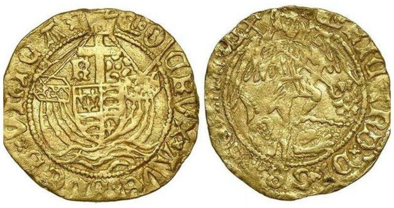 И снова Англия. Любительница приборного поиска Мишель Валл из Блэкпула (северо-запад Англии) откопала золотую монету стоимостью 40 тысяч фунтов стерлингов (3,12 млн рублей). Клады, всячина, золото, интересное, истории, находки, удача