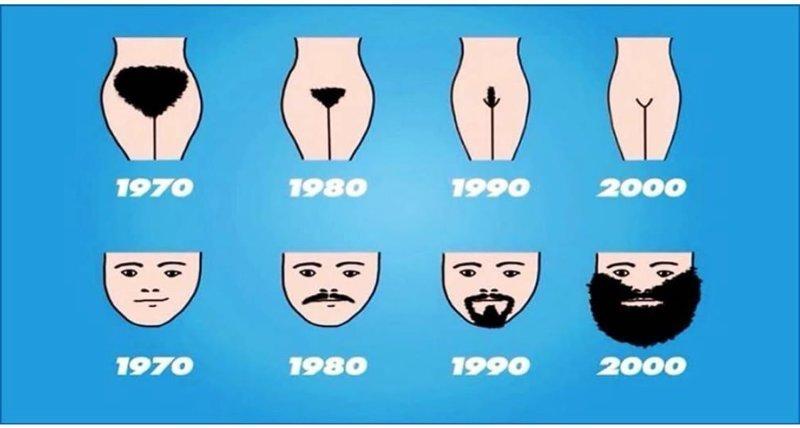 Борода и кое-что еще вещи, интересное, картинки, факты, эволюция