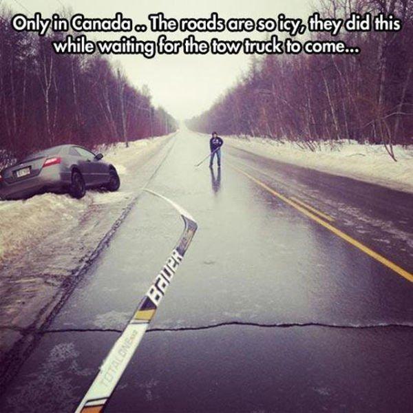 Канадцы очень спокойные во всем видят позитив... интересно, информация., люди