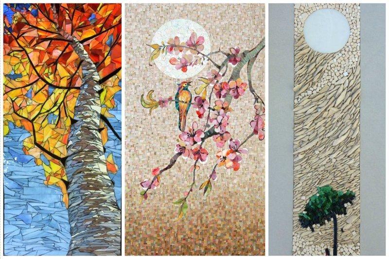 Природа и цветы Фабрика идей, интересное, красота, мозаика